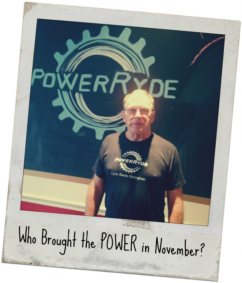 Who Brought the POWER in November?
